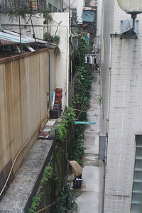 A narrow backalley