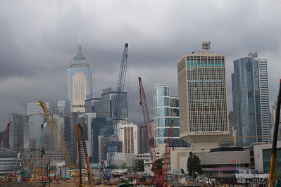 Central skyline from Piers