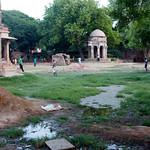 Hauz-Khaus ruins in Delhi
