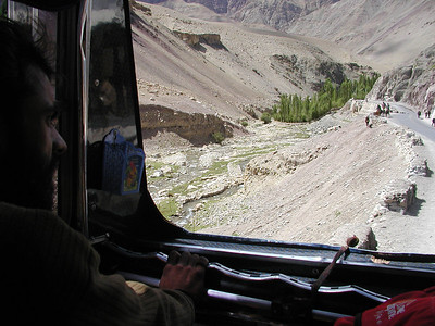 Truck ride in Ladakh