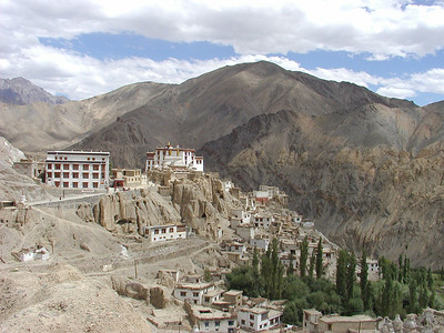 Lamayuru Monastery from the Highway