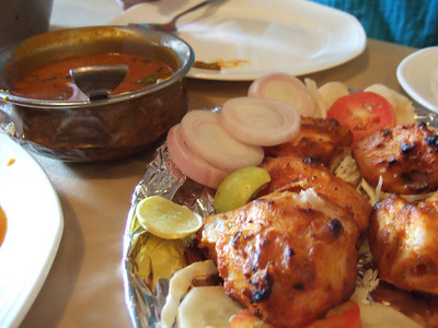 Fish tikka at Pindi